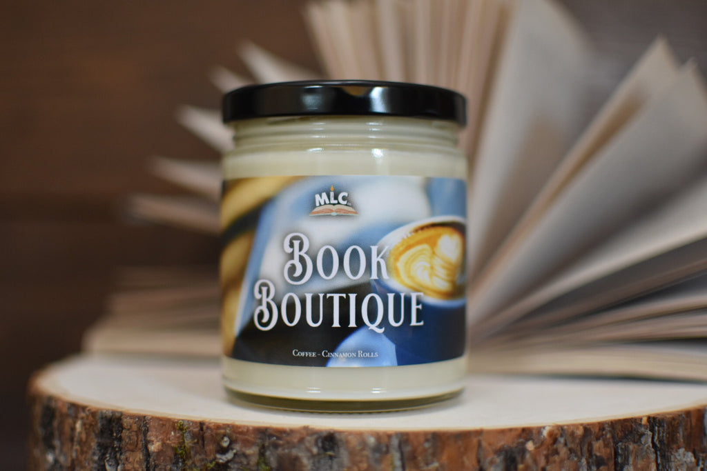 Book Boutique - Hand Poured - Soy Candle