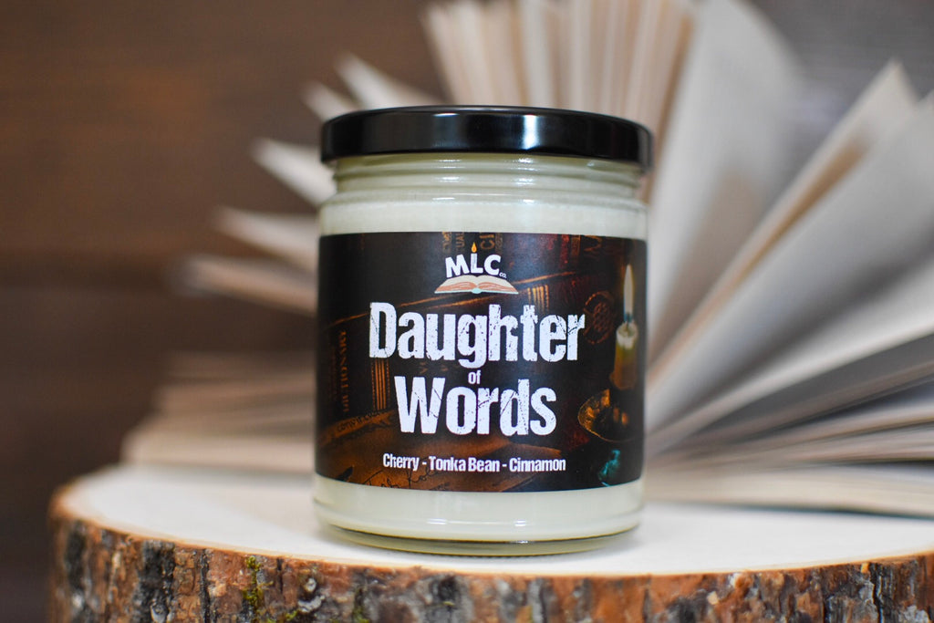 Daughter of Words  - inspired by Nevernight - Hand Poured - Soy Candle