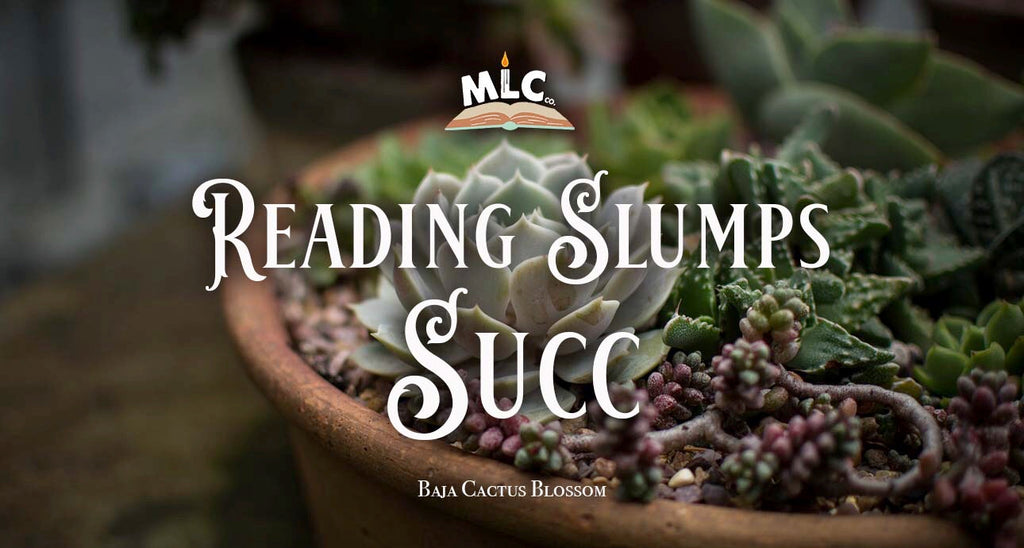 Reading Slumps Succ - Hand Poured - Soy Candle