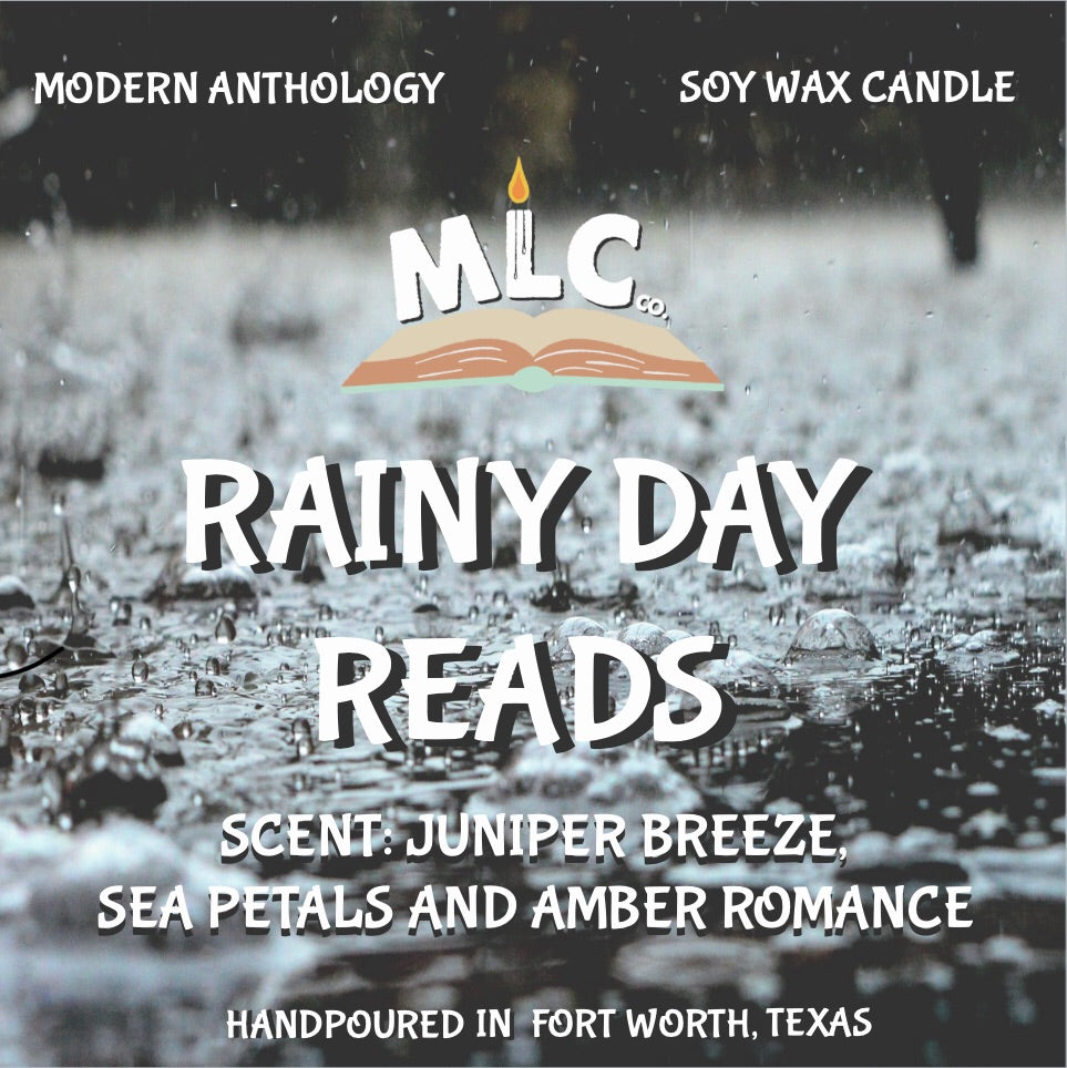 Rainy Day Reads - Hand Poured - 10oz Candle