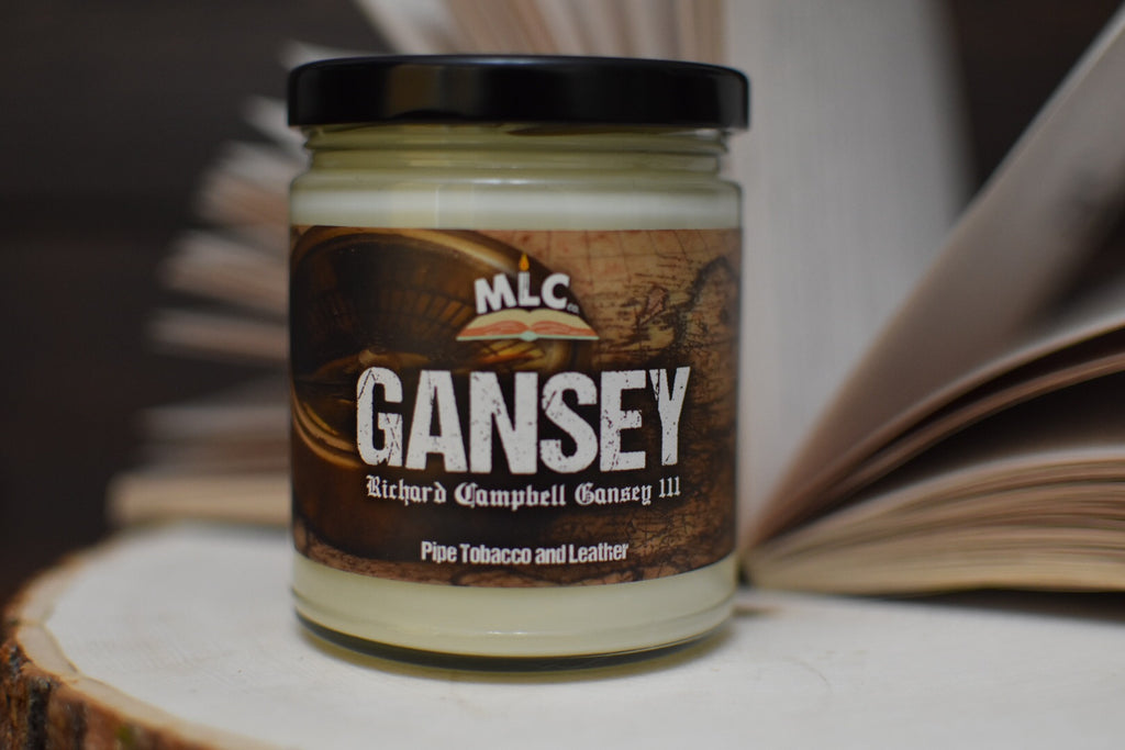 Gansey - inspired by The Raven Cycle - Hand Poured - Soy Candle