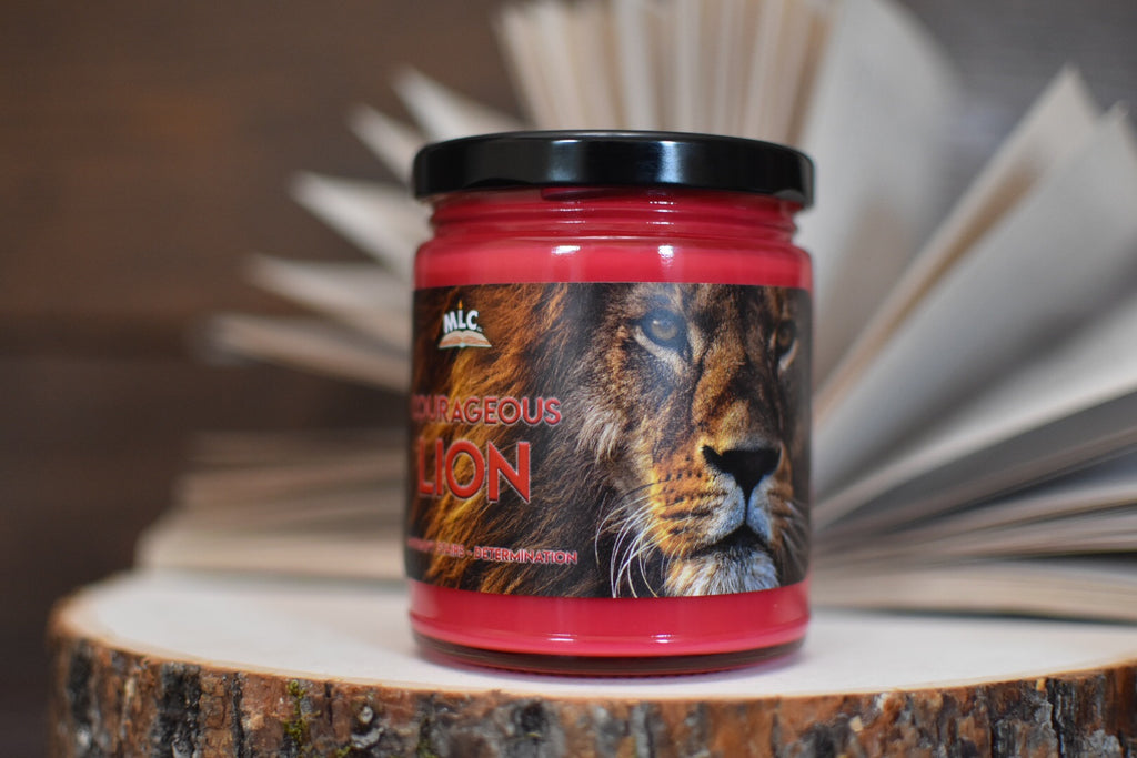Courageous Lion - Hand Poured - Soy Candle