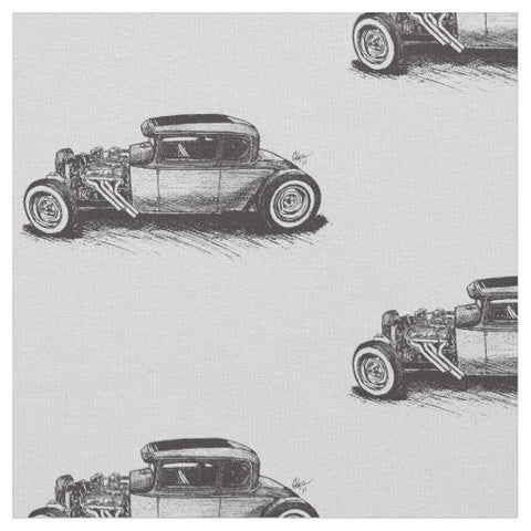 Classic Hot Rod Fabric