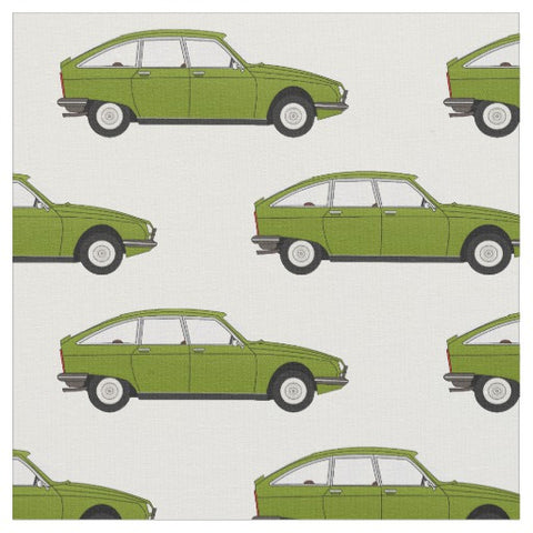 Citroen GS Classic Car Fabric