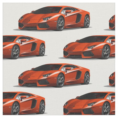 Lamborghini Aventador Car Fabric