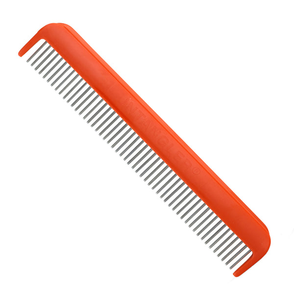 "7"" Pet Comb -smooth rotating stainless teeth for easy mat removal. Best Seller! T716PC"