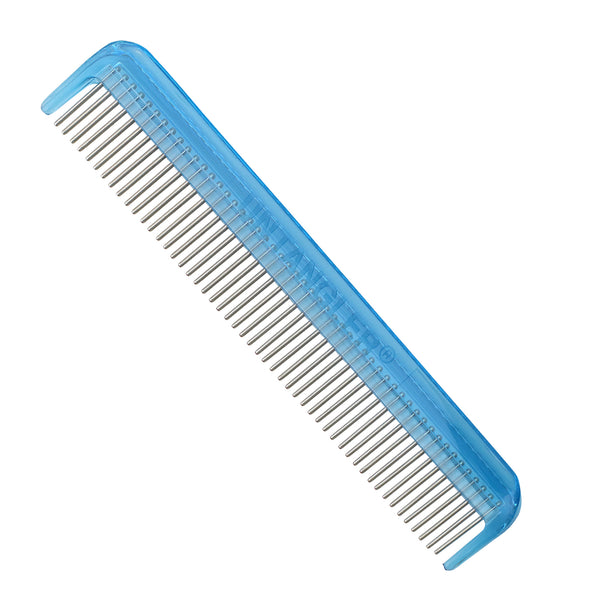 "7"" Pet Comb -smooth rotating stainless teeth for easy mat removal. Customer favorite."