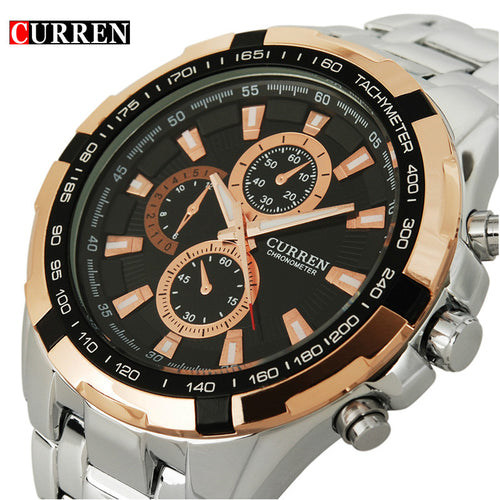 Curren Full Steel Mens Watch
