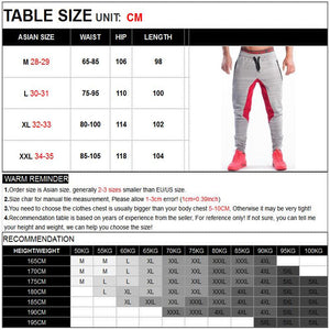 Mens Fitness Joggers Sweatpants