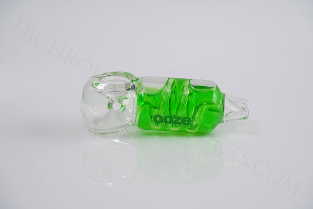 OOZE CRYO FREEZABLE Glycerin Glass Bowl Hand Art Tobacco Pipe