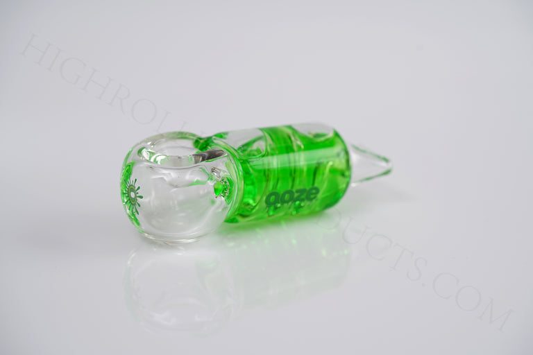 3x OOZE CRYO FREEZABLE Glycerin Glass Hand Art Tobacco Pipe