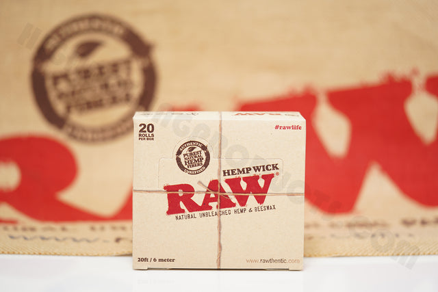 Full Box 20 Rolls(20 ft / 6 meter In Each Roll) Of Raw Hemp Wick