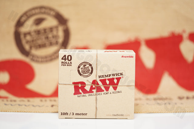 Full Box 40 Rolls(10 ft / 3 meter In Each Roll) Of Raw Hemp Wick