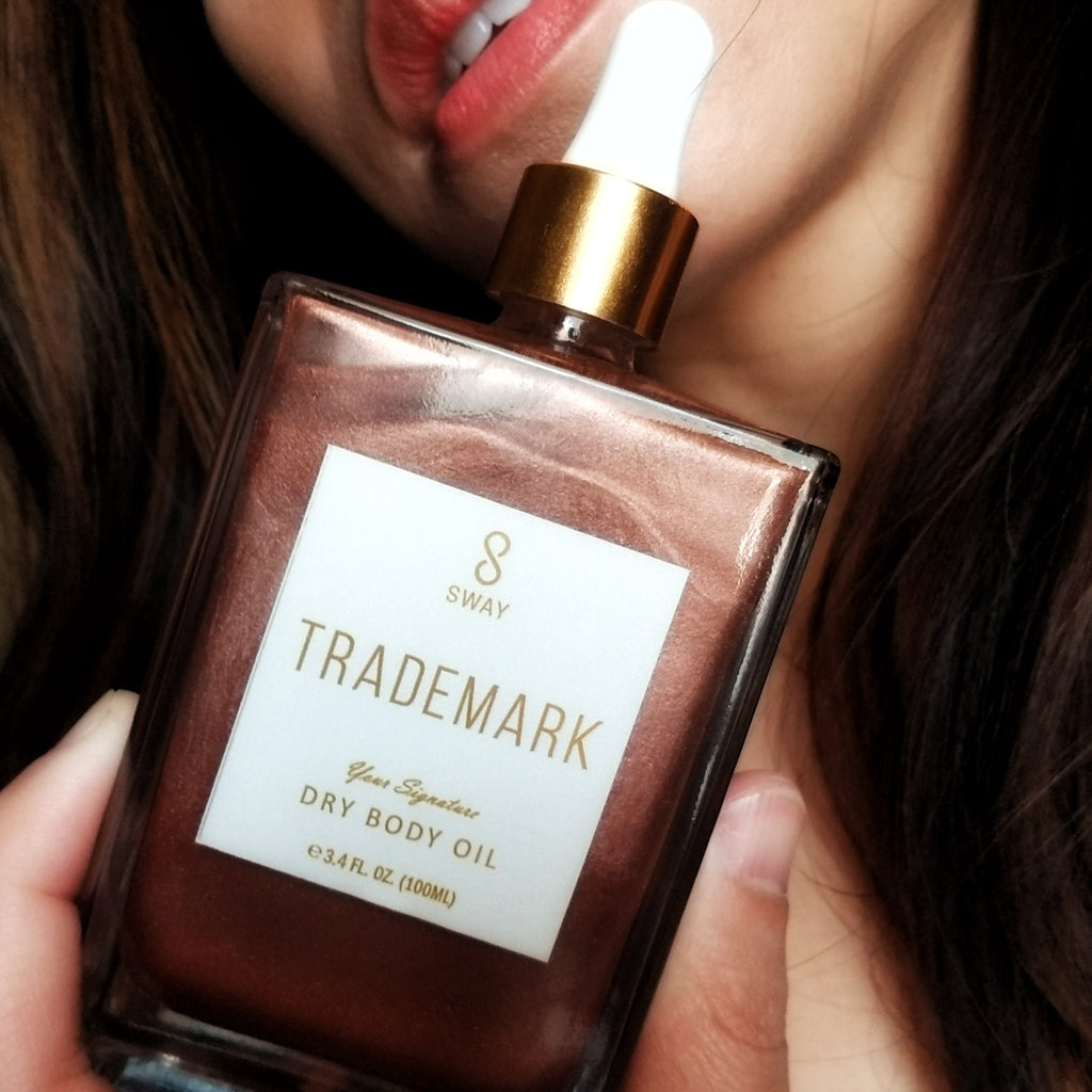 TRADEMARK Dry Body Oil Limited Rose Shimmer Edition