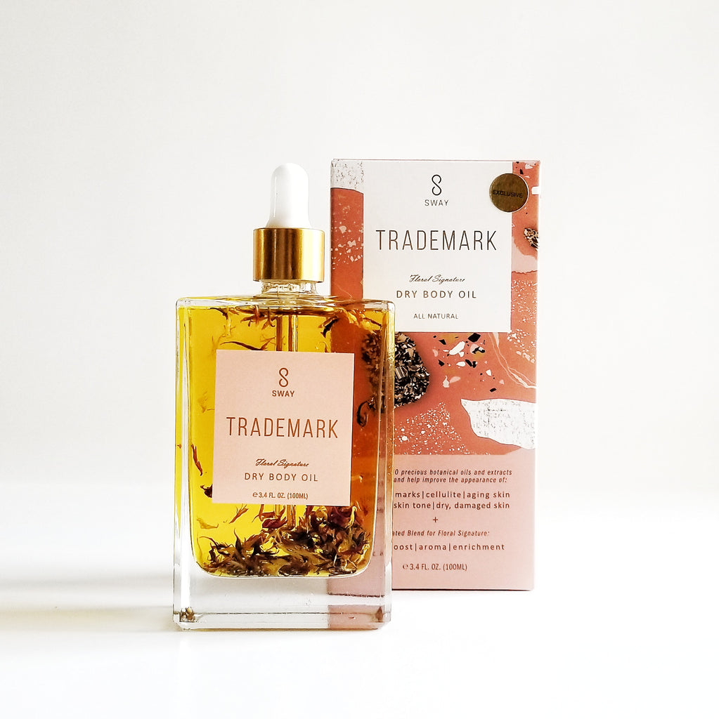 TRADEMARK Dry Body Oil Limited Rose Quartz Edition