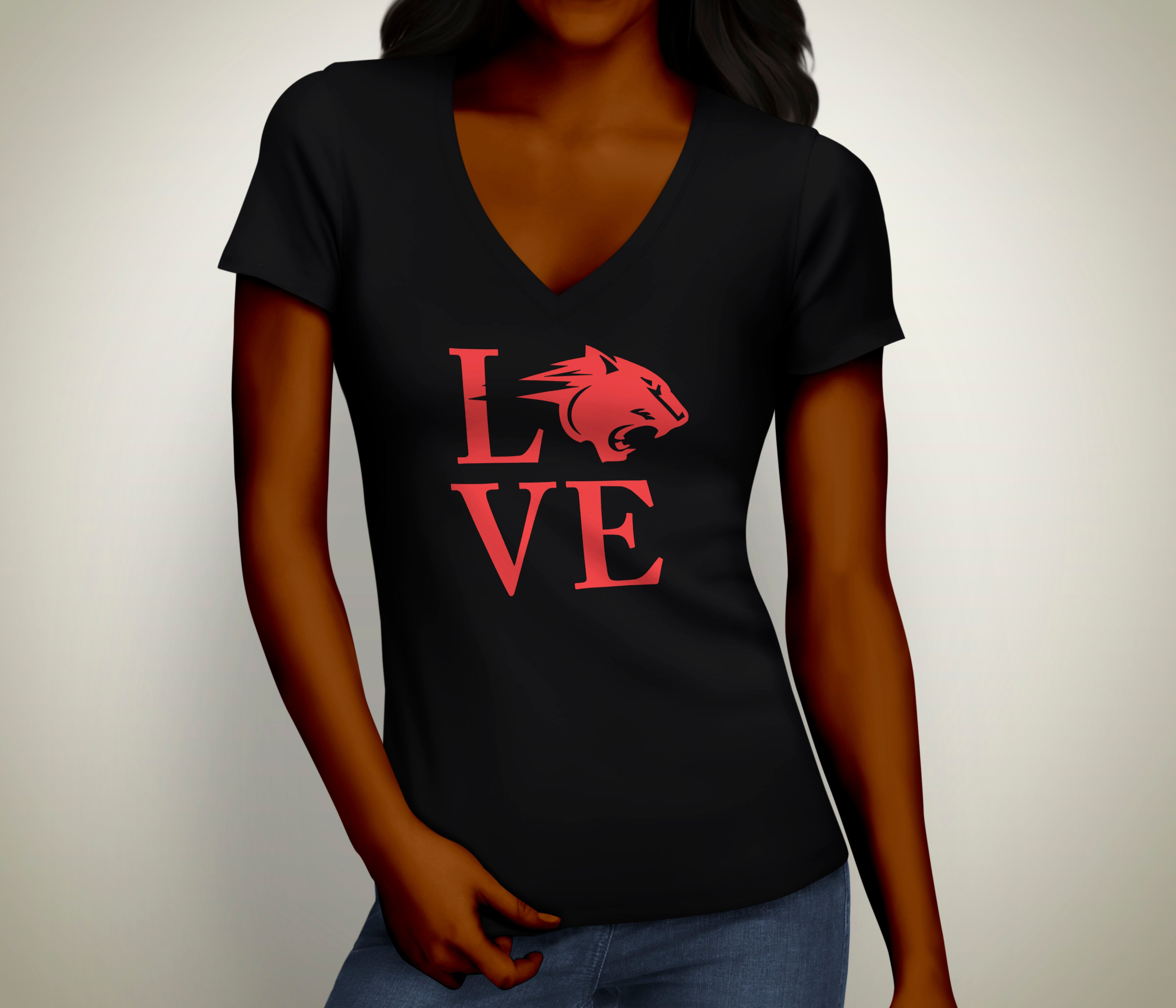 CAU Panther™ Love Ladies Tee