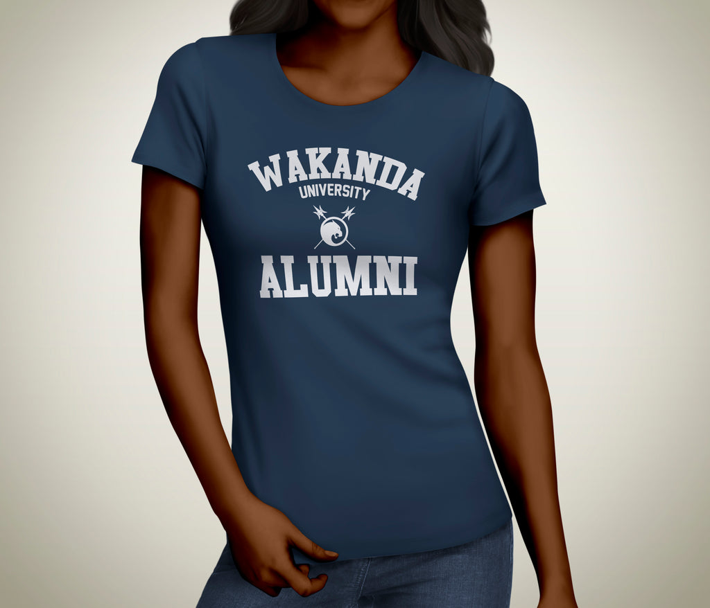 Wakanda University Alumni Ladies Tee