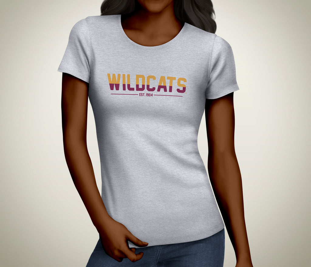 Wildcat™ 2-Tone Ladies Tee