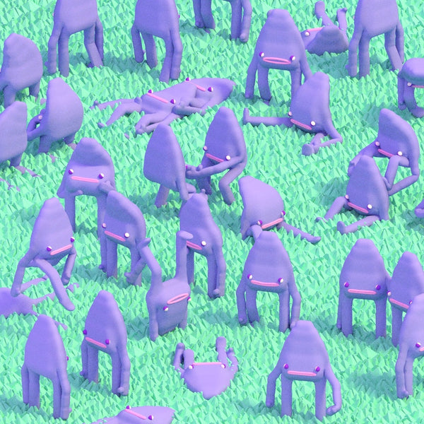 Julian Glander Purple Guys