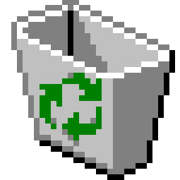 The Signs as Windows 95 Icons - Recycle Bin Icon - Virgo