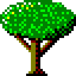 The Signs as Windows 95 Icons - Tree Icon - Pisces