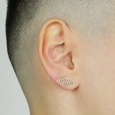 Website Stud Earrings
