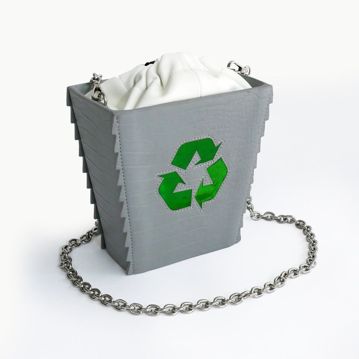 Recycling Trash Bin Purse