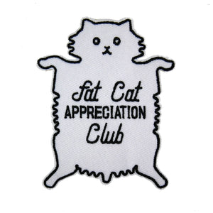 Studio Cult Fat Cat Appreciation Club Patch
