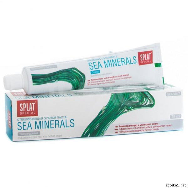 Pasta Dental- Sea Mineral-Natugo