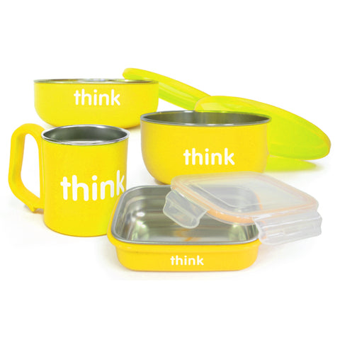 Set de Comida ThinkBaby-Amarillo-Natugo