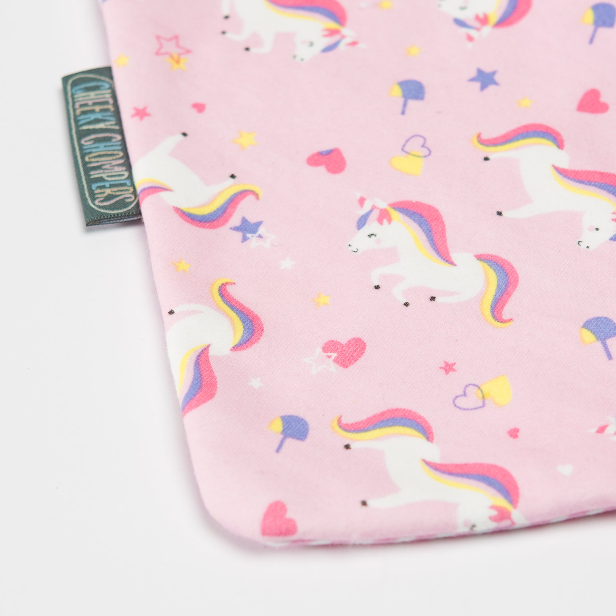 Pack Baberos- Unicorn Love & Polka Dot-Natugo