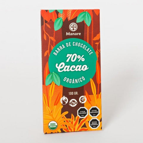 Chocolate 70% Cacao-Natugo