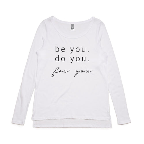 Be You Long Sleeve Tee