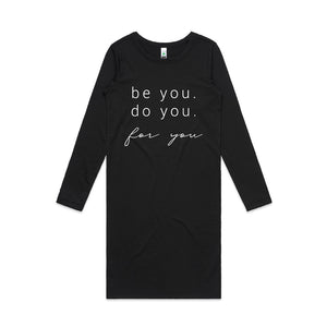 Be You Long Sleeve Dress