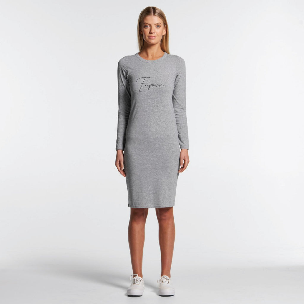 Empower Long Sleeve Dress