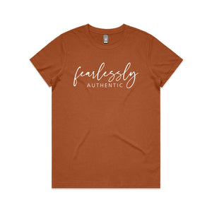 Fearlessly Authentic Tee