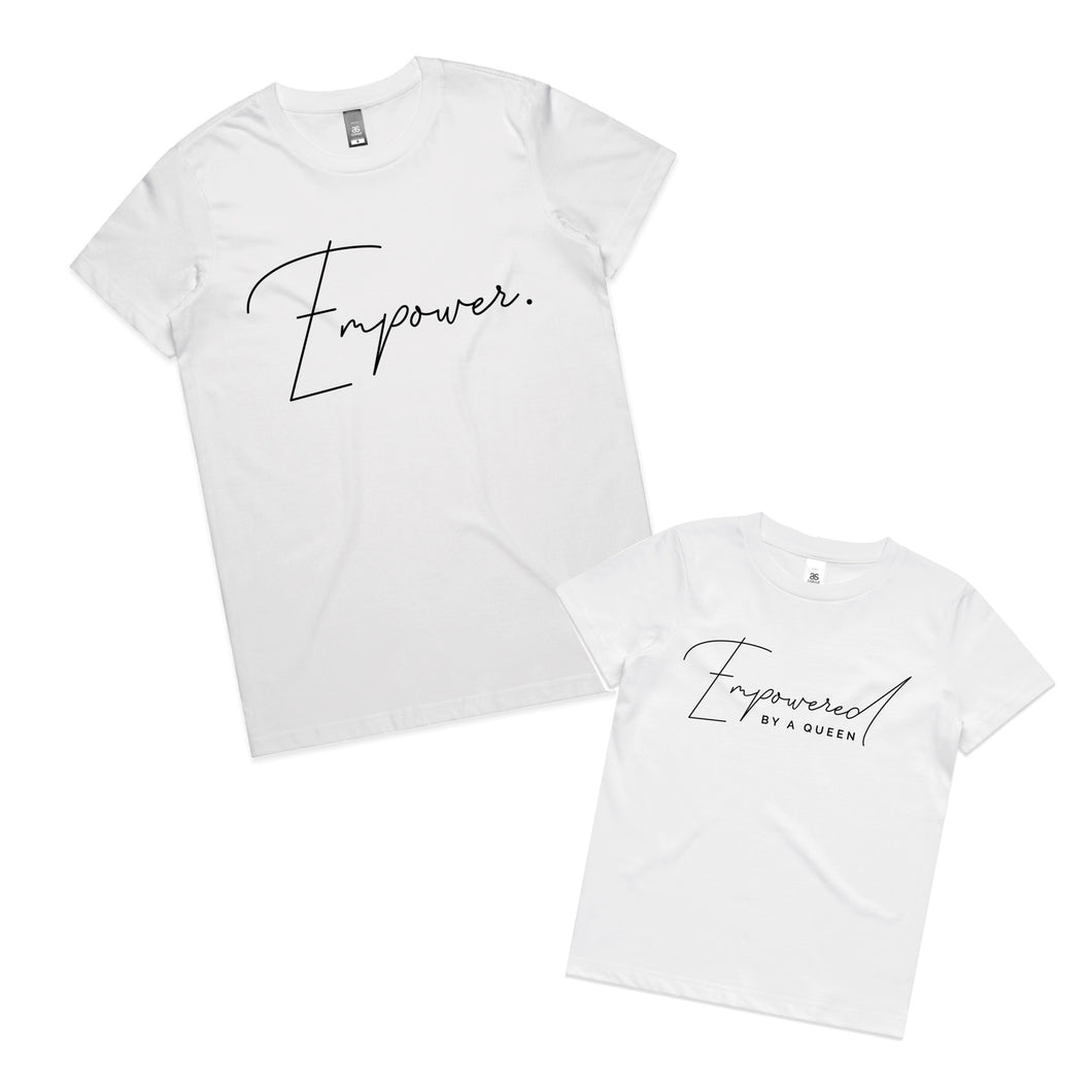 Empower Tees - Mummy + Me Sets