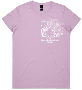 Fierce Females Club - Lilac Tee