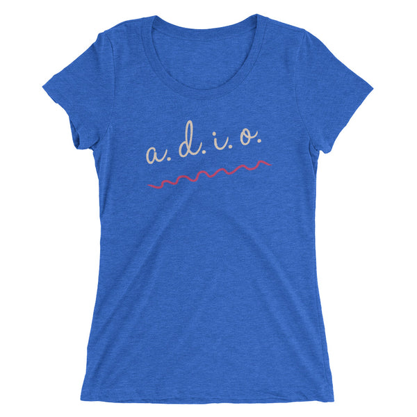 ADIO - Ladies' short sleeve t-shirt