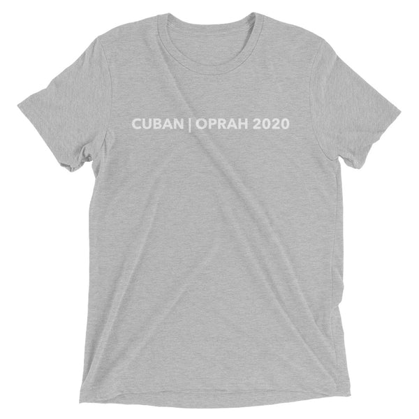 Cuban/Oprah for President - Nice Short sleeve t-shirt
