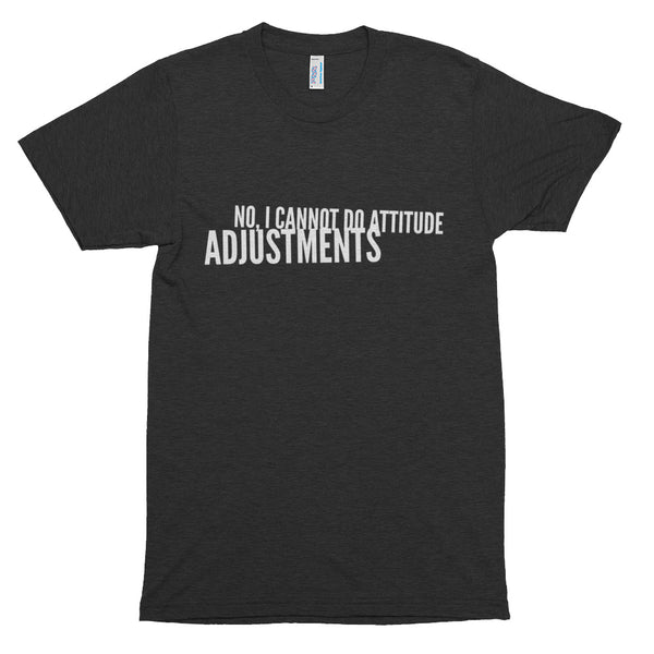 Attitude Adjustments - Chiropractic - Short sleeve soft t-shirt
