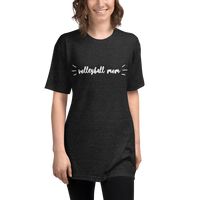 Volleyball Mom - Unisex Tri-Blend Track Shirt