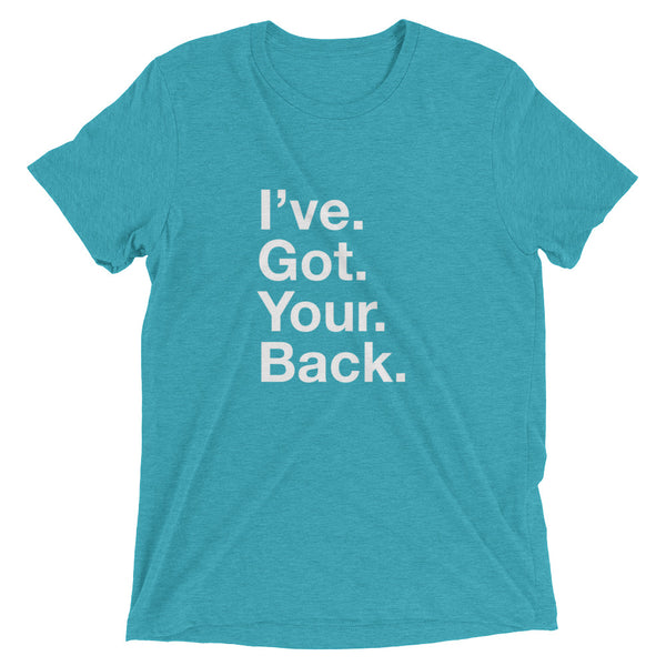 I've. Got. Your. Back - Vertical - Chiropractic - Short sleeve t-shirt