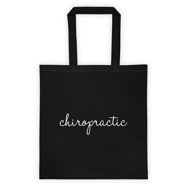 Chiropractic - Tote bag