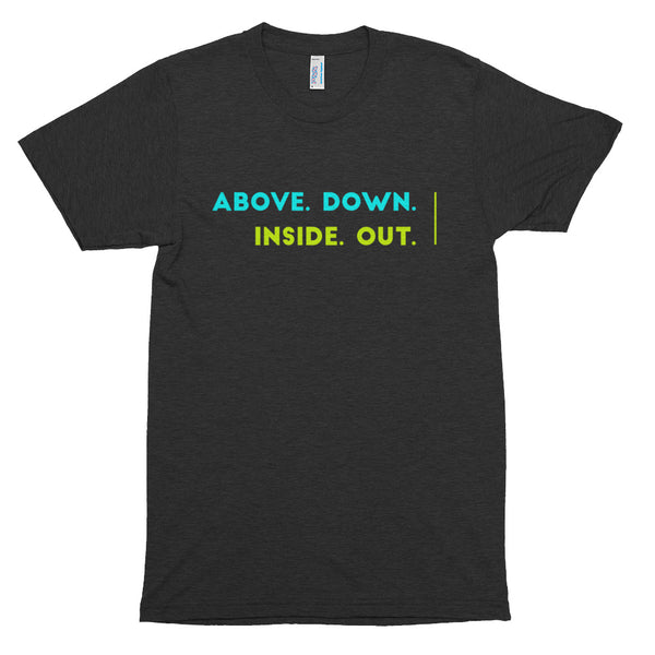 ADIO - Colorful - Right Justified - Short sleeve soft t-shirt