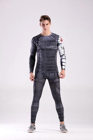 WINTER SOLDIER CODY HERO COOLDRY COMPRESSION SET