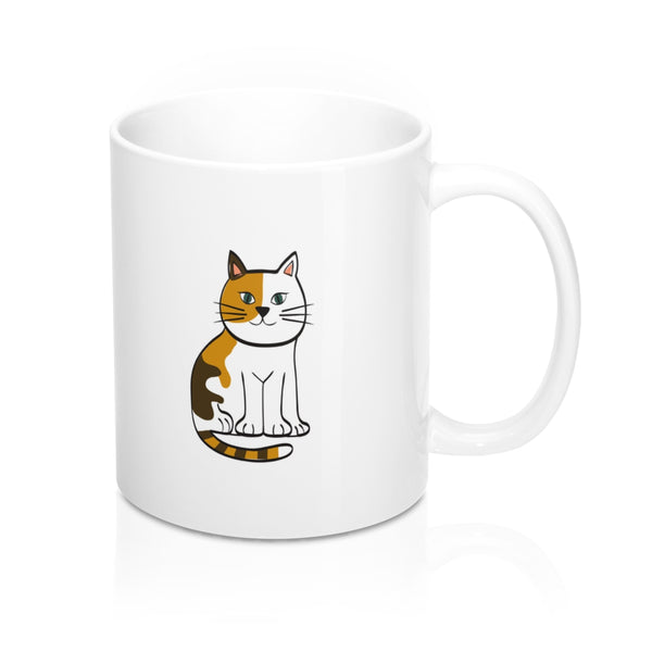 EAT MORE PUSSY WHITE COFFEE MUG