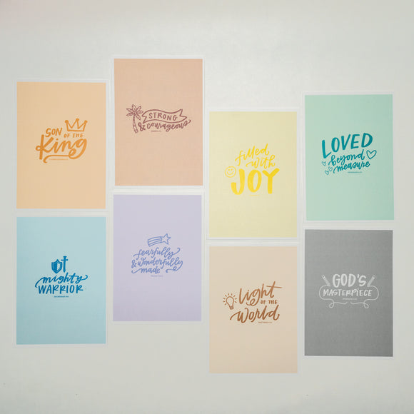 Scripture Affirmations Print Set