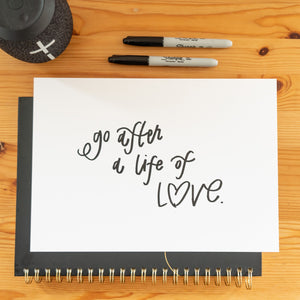 Go After A Life of Love