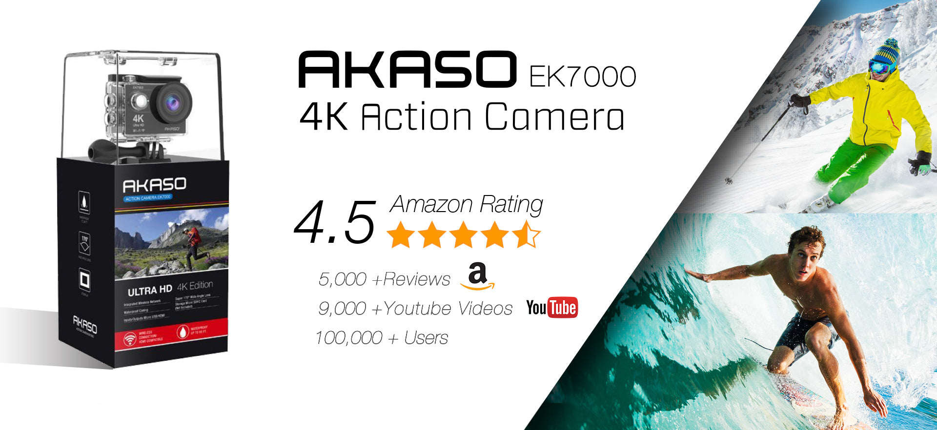 Akaso official website online shopping for sports electronics buycottarizona Gallery
